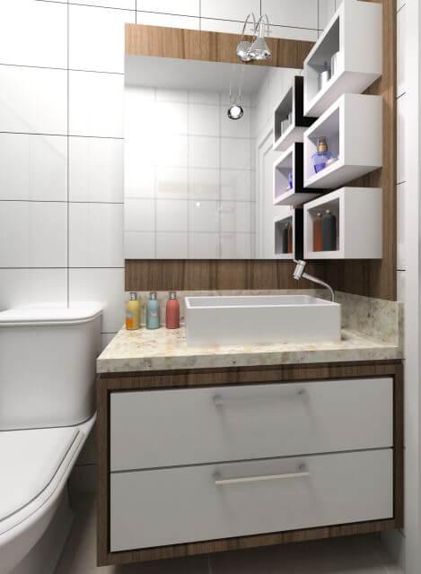 Banheiros Planejados E Sob Medida Pessotto Móveis Móveis